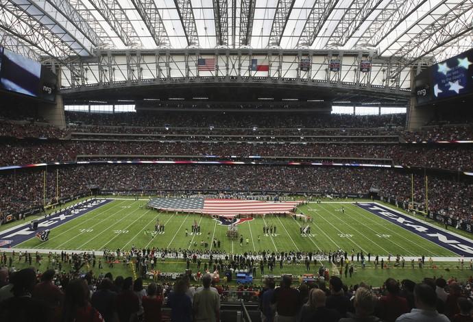 NRG Stadium, casa do Houston Texans, será o palco do Super Bowl de 2017 (Foto: Getty Images)