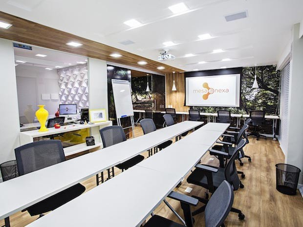 Novo conceito de escritório tem conquistado profissionais de diferentes áreas (Foto: Humberto Lopes)