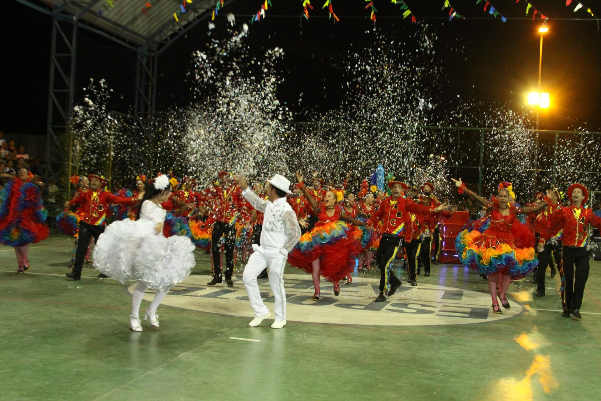 Concurso de Quadrilhas Juninas da TV Grande Rio 2013. (Foto: Arquivo Marketing)