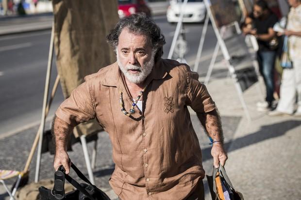 Tony Ramos como Zé Maria na novela A Regra do Jogo (Foto: Globo/João Cotta)