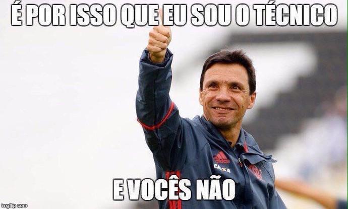 Zé Ricardo é homenageado nas redes sociais após o empate (Foto: Reprodução/Twitter)
