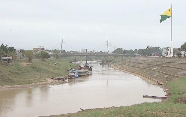 Reportagem destacou história do rio. (Foto: Acre TV)
