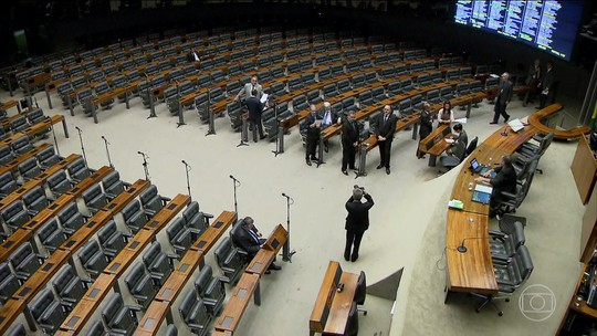 Congresso amanhece vazio após a notícia da lista da Lava Jato