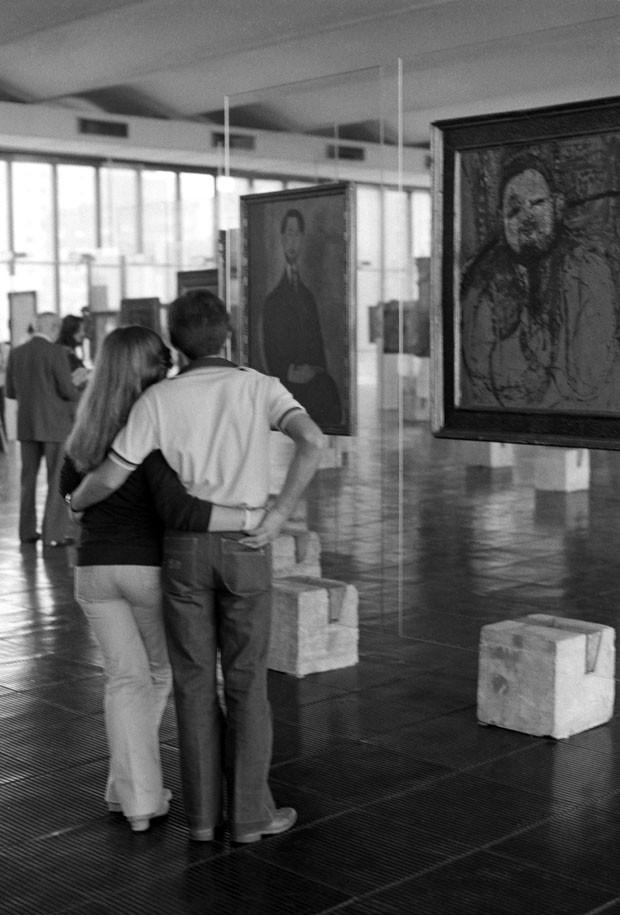 Mostra permanente Cavaletes, no MASP (Foto: Divulgação)