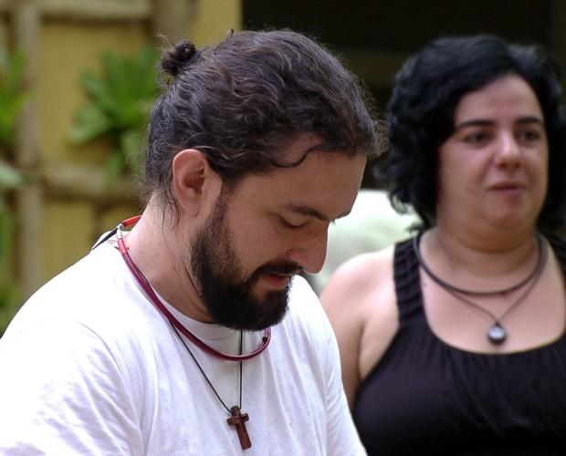BBB às 14h23m do dia 24/01. (Foto: Big Brother Brasil)