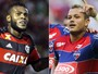 Futebol: Globo transmite Flamengo x Fortaleza e Corinthians x Nacional