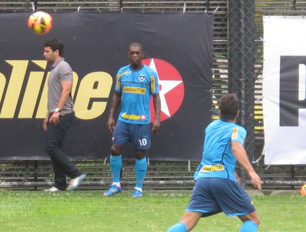 Seedorf botafogo (Foto: Thales Soares)