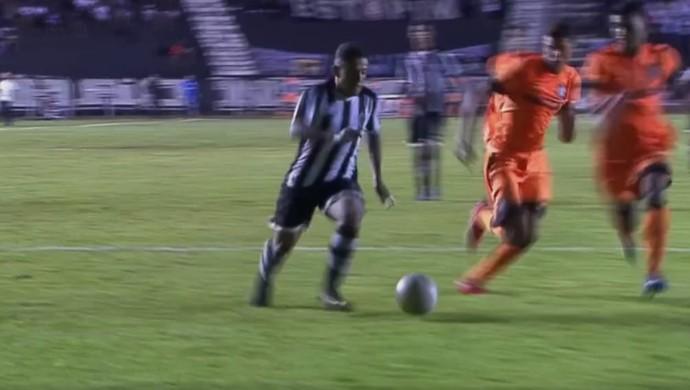 Gianotti Botafogo-PB Copa São Paulo (Foto: Reprodução)