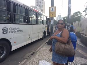 Eliana criticou o reajuste das passagens no Rio (Foto: Matheus Rodrigues/G1)