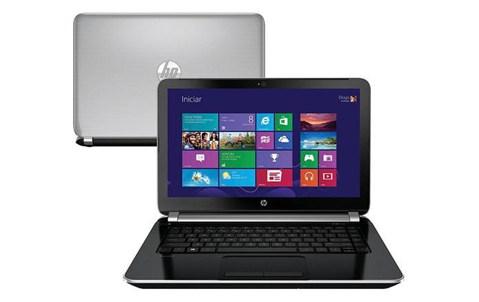 Notebooks da HP têm 14 polegadas de tela e mesmo design (Foto: Divulgação) (Foto: Notebooks da HP têm 14 polegadas de tela e mesmo design (Foto: Divulgação))