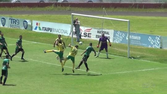 Canarinho e Três Lagoas disputam a final do Campeonato Amador de Foz