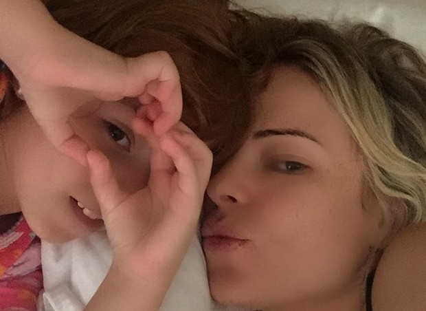 Marina e a filha, Maria Victoria (Foto: Reprodução/Instagram)