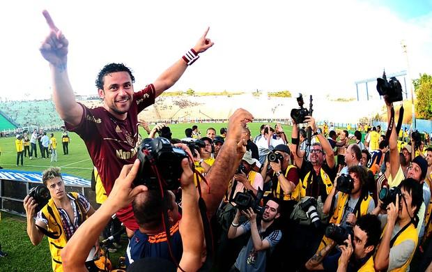 Fred Fluminense campeão (Foto: Marcos Ribolli / Globoesporte.com)