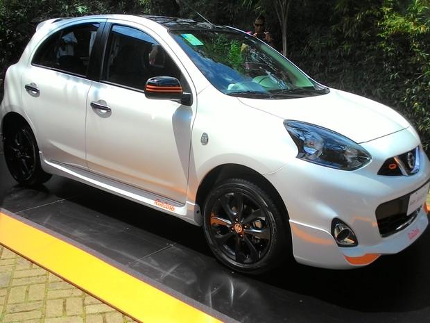 Nissan March Rio 2016 Edition (Foto: Divulgação)