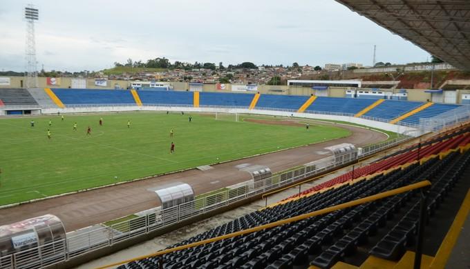 Boa Esporte e Goiás se enfrentam na quarta-feira, dia 1º, em Varginha, pela Copa do Brasil (Foto: Lucas Soares)