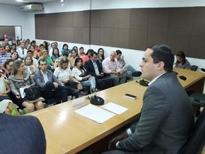 Secretário do Meio Ambiente Alexandre Ayres diz que o trabalho já deveria ter sido implantado em Alagoas (Foto: Ascom/Semarh)