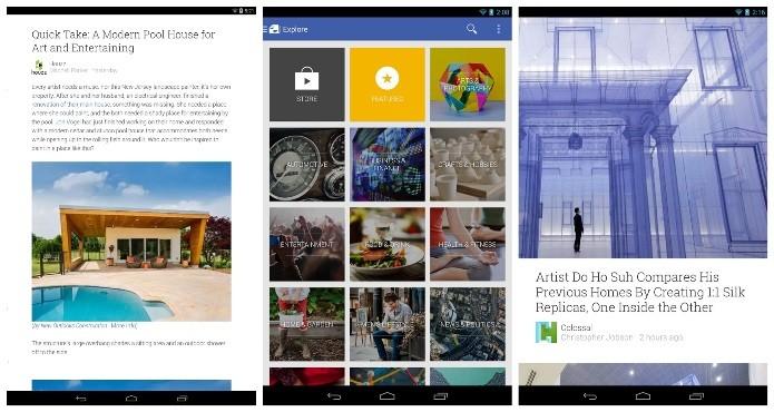 O Google Play Banca oferece diversas publicações de revistas e jornais (Foto: Divulgação)