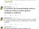 Para Dilma, redação do Enem trouxe reflexão sobre violência contra mulher