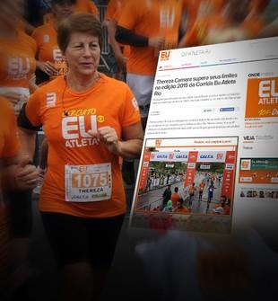Carrossel Corrida Eu Atleta Jornalzinho (Foto: Globoesporte.com)