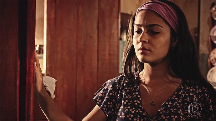 Olívia desafia Miguel (Foto: TV Globo)