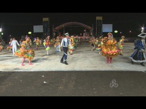 Arraial Flor do Maracujá é encerrado após 10 dias de festa em Porto Velho  (Foto: Reprodução/ Tv Rondônia)