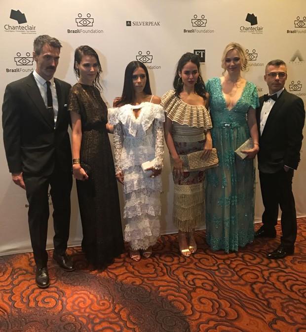 Henrique Gendre, Luciana Curtis, Marina Morena, Manuela Giannini, Fabiana Saba e Marcus Ribeiro      (Foto: Divulgação)