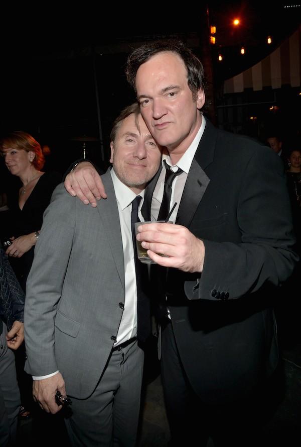 O ator Tim Roth com o diretor Quentin Tarantino (Foto: Getty Images)
