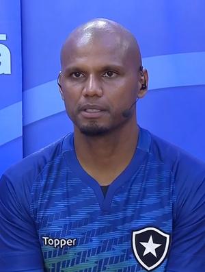 Jefferson, goleiro do Botafogo (Foto: Reprodução SporTV)