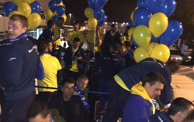 Reprodução INstagram Dzeko e a festa bósnia
