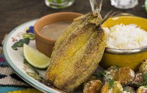 Como fazer sardinha frita crocante com fubá