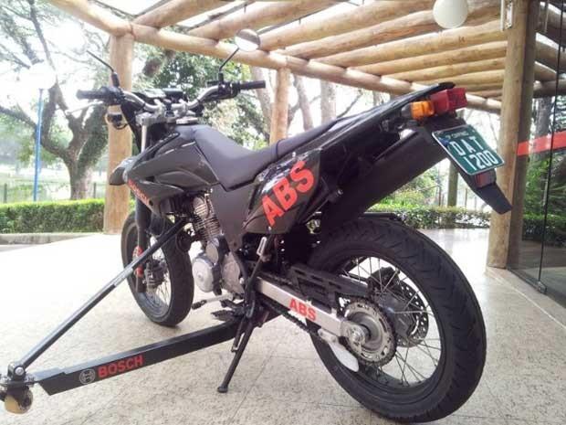 Bosch lança freios ABS para motos em Campinas (Foto: Maurício Barbosa/G1 Campinas)