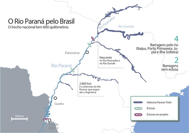 mapa-rio-parana-piscicultura-edicao-370-agosto-2016 (Foto:  )