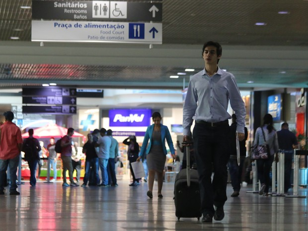 Aeroporto Salgado Filho em Porto Alegre é um terminais que vão a leilão (Foto: Hygino Vasconcellos/G1)