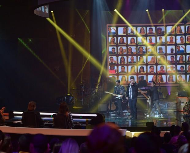 Banda Malta (Foto: Camila Serejo/TV Globo)