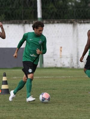 Lincoln durante o treino do Coritiba (Foto: Divulgação / Site oficial do Coritiba)