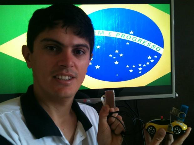 Inventor Sarapuí (Foto: Divulgação/ Edson Ruivo)