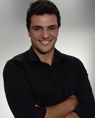 Rodrigo Lombardi não possui perfil no microblog Twitter  (Foto: Raphael Dias/TV Globo)