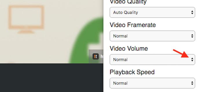 Caminho para acessar as opções de volume automático para vídeos do YouTbe na extensão ImprovedTudo (Foto: Reprodução/Marvin Costa)