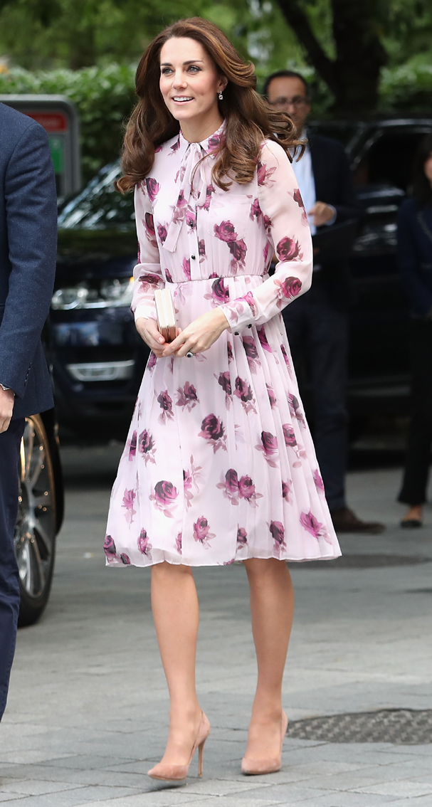 Kate Middleton veste Kate Spade (Foto:  Chris Jackson/Getty Images)