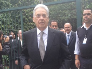 Fernando Henrique Cardoso (Foto: Nathália Duarte/ G1)