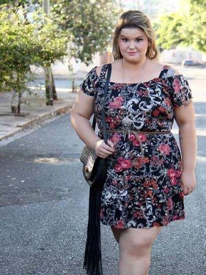 Blogueira passou a dar dicas de moda e comportamento para mulheres gordinhas (Foto: Arquivo pessoal)