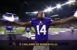 Imagens da semana: do touchdown milagroso ao show de um homem só