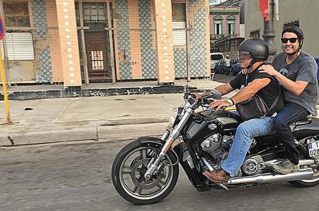 Bruno de Luca em Cuba (Foto: Divulgação)