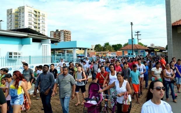Ação Global realiza mais de 80 mil atendimentos em Porto Velho (Foto: Angelina Ayres Medeiros/Rede Amazônica)