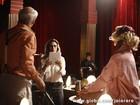 Para viver o diretor de teatro Arlindo, Caruso diz se inspirar em Amora Mautner