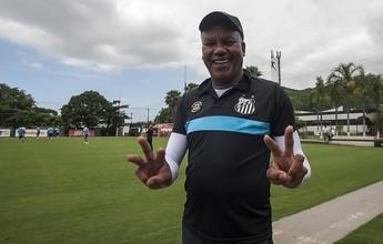 """Chulapa relembra título pelo Santos em 1984: """"Bebi tanto que bati o carro"""""""