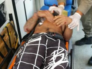 Jovem tenta fugir e cai de uma altura de 10 metros em Teresópolis (Foto: Divulgação/Polícia Militar de Teresópolis)