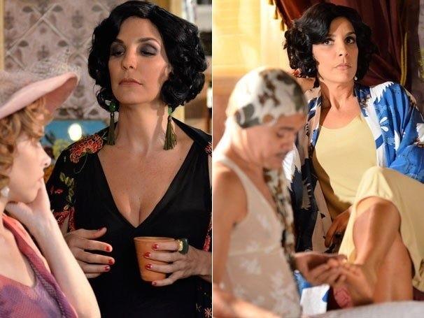 Ivete Sangalo como Maria Machadão em 'Gabriela' (Foto: TV Globo/Divulgação)