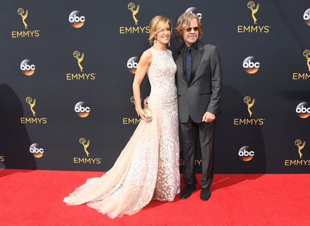 Felicity Huffman e William H Macy (Foto: AFP)