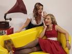 Angélica e Suzana Pires se transformam em divas pin ups; veja fotos!